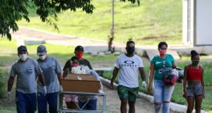 Brazil reports record Covid-19 4,000 daily deaths