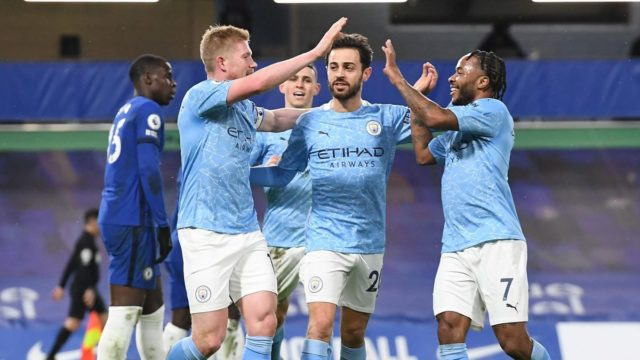 3 Wins Left For Manchester City To Clinch Title, See Fixtures