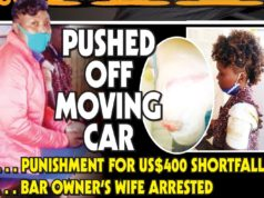 Employee pushed off speeding car as punishment for $400 shortfall