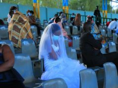 Newly Weds & Guests forced to spend night in stadium for violating covid-19 rules