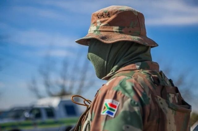 South Africa National Defense Forces