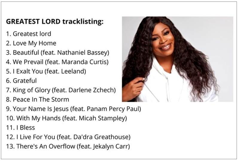 Sinach Drops Greatest Lord!