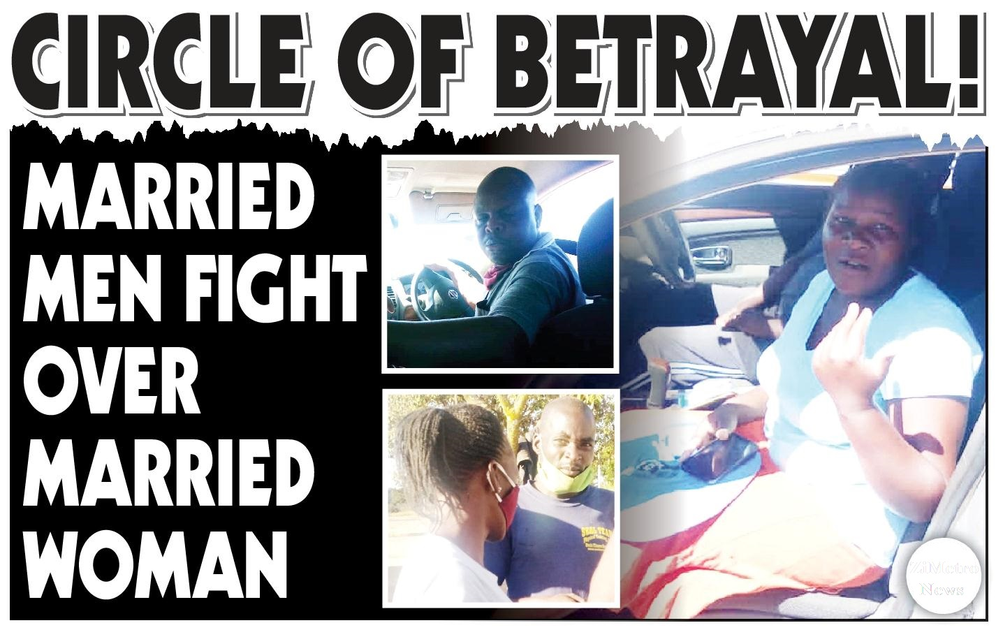 Drama As Married Men Clash Over Married Woman!