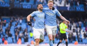 Aguero Seals City Career In Style, Breaks Rooney's Record