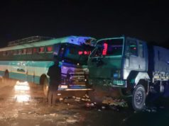 ZUPCO Bus Collides With Army Truck