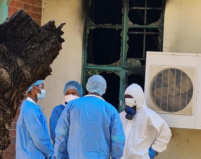 Two perishes in Limpopo hospital fire