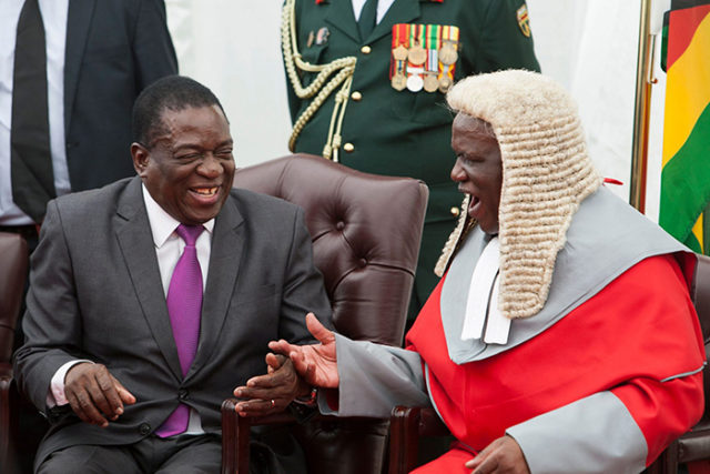 Mnangagwa Extends 70 year-old Chief Justice Malaba's Term By 5 More Years