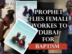 Prophet Fly Ushers To Dubai - Mistakenly Posts Pictures To Social Media