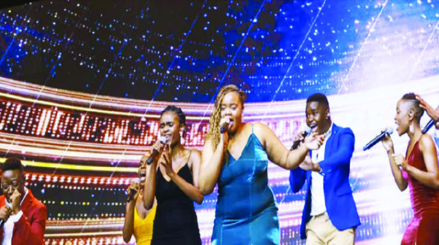 Meet Zim's 2nd Amazing Voices reps, The Unveiled