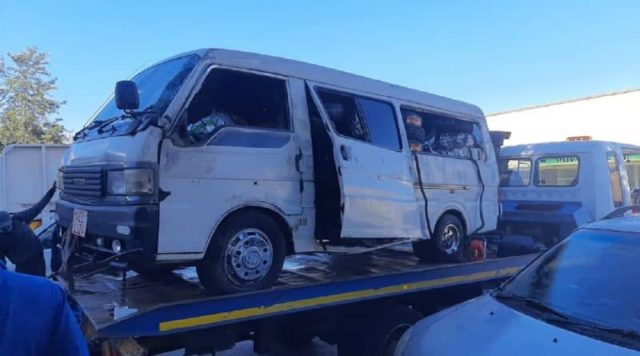 Bad day in Office...armed robbers getaway car overturns