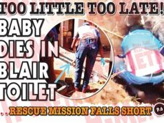 Baby Dies In Blair Toilet...Rescue Mission Falls Short