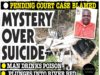 Mystery Over Suicide...Man Drinks Poison, Plunges into River!
