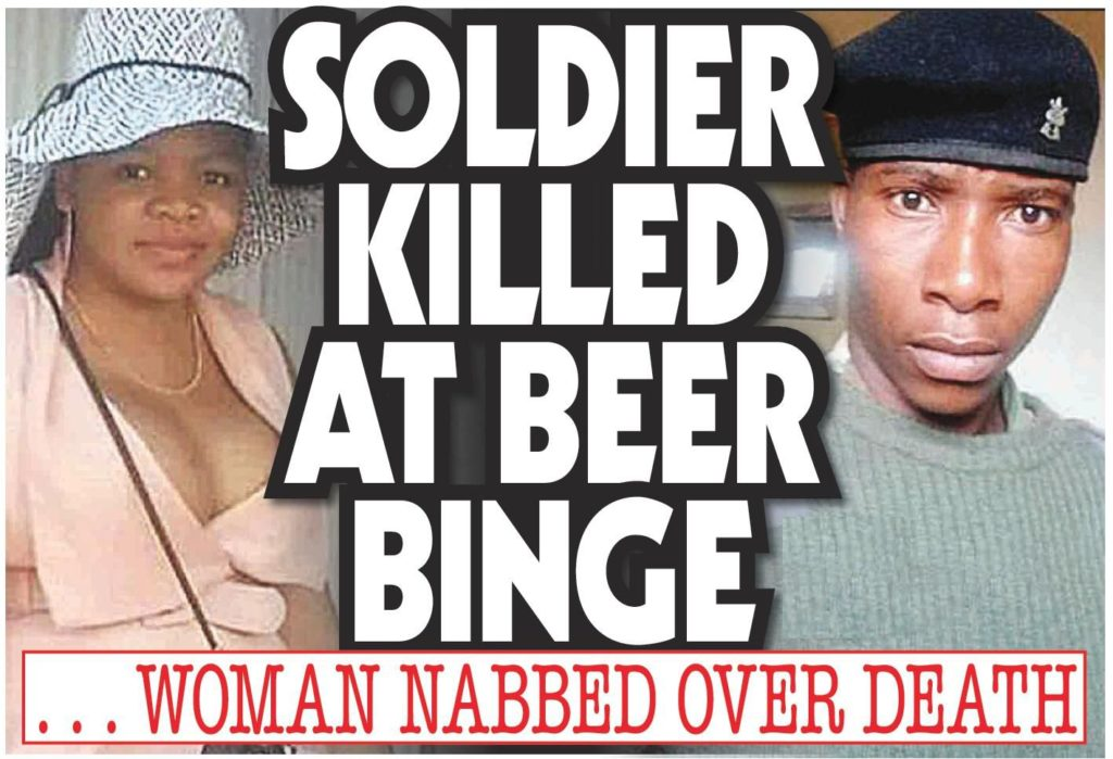 A Zimbabwe National Army Soldier Was Killed by A Thigh Vendor After a Foiled Night of Pleasure In Highfied