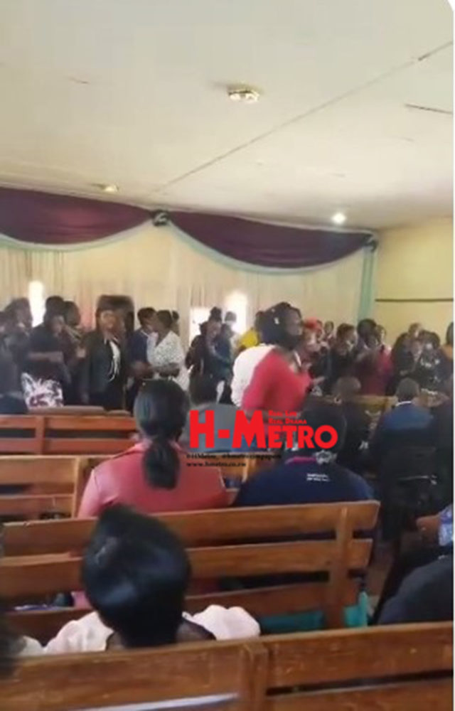 Woman loses valuables during church session