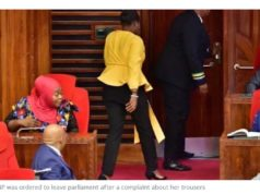 Female MP Ejected For Wearing Trousers In Tanzania