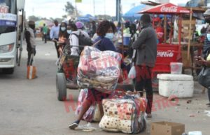 Vendors turn into commuters