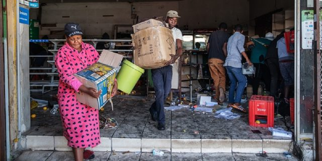 South Africa Economy To Take A Hit From Riots