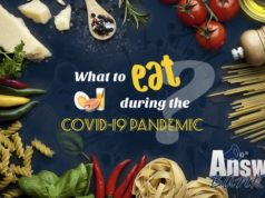 Nutrition advice for adults during the COVID-19 outbreak