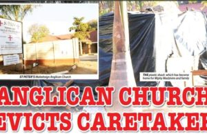 ANGLICAN CHURCH EVICTS 60-YEAR-OLD CARETAKER