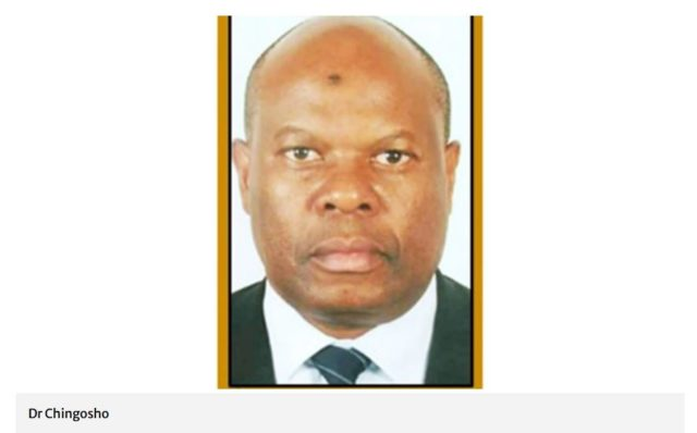 Eng Chingosho Appointed as Civil Aviation Director-General