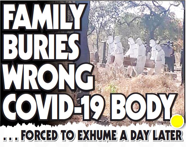 FAMILY BURIES WRONG COVID-19 BODY